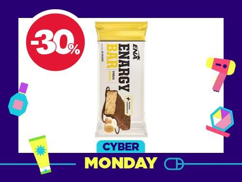 Sup Dietario Enargy bar carbohidratos y proteínas sabor banana 46 gr