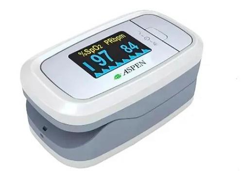 Oximetro Pulso Aspen Saturometro Tecnologia Digital Oxigeno