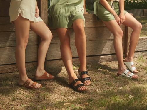 Chinela Mujer Cuero Briganti Zapato Sandalia Suela Moda Goma Verano