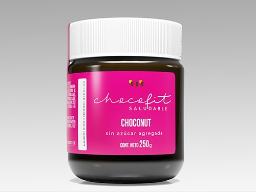 CHOCONUT Chocolate Nutella, Vegano, Sin azucar agregada, Sin gluten