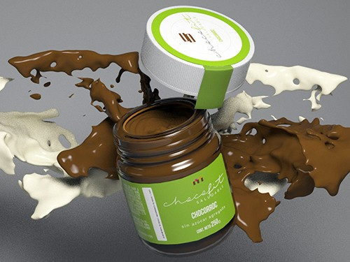 CHOCORROC Chocolate Marroc, Sin azucar agregada, Sin gluten