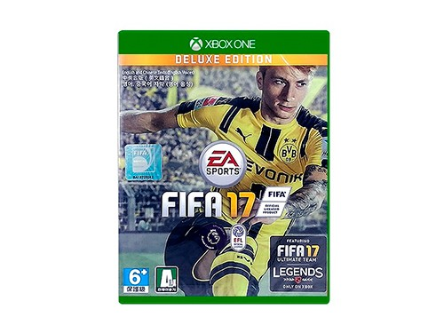 Combo XBOX One S Joystick Black + Cable Wind + FIFA2017 Deluxe Edition