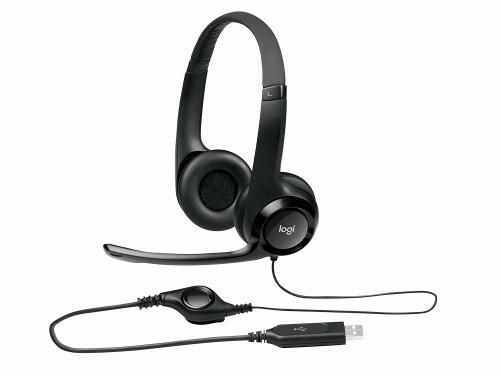 AURICULAR HEADSET STEREO H390 USB LOGITECH