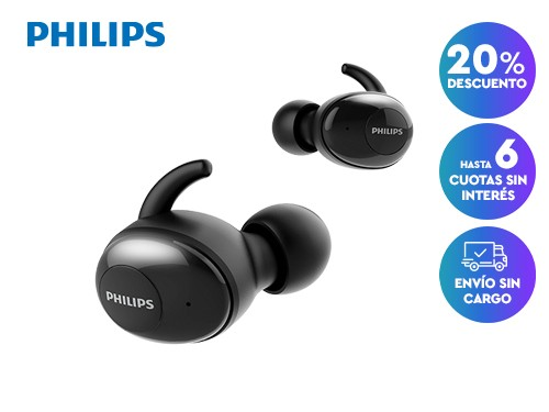 Auriculares True Wireless Philips SHB2505BK/10