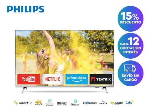 Smart TV Philips 4K 50PUD6654/77