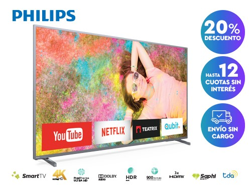Smart TV Philips 4K 70PUG6774/77