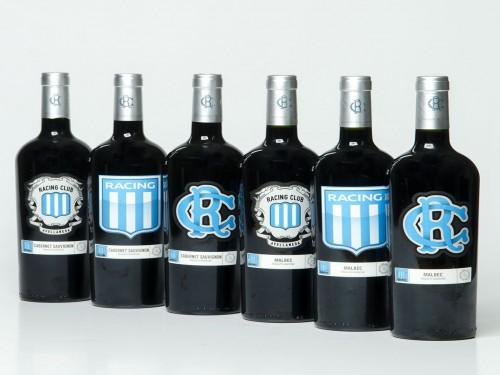 Caja de vino x 6 unidades ¨Racing Club¨ malbec y cabernet