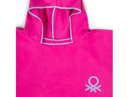 Ponchos de playa Microfibra Rosa + mochila