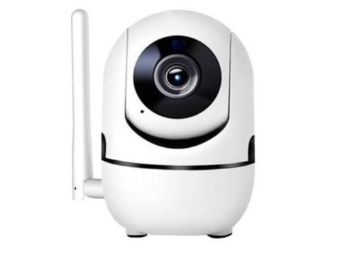 Camara Ip Wifi Seguridad Inalambrica Audio Detector Graba Nocturna Sd