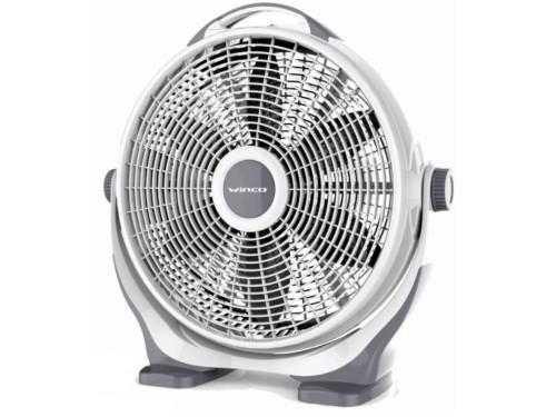 Ventilador Turbo De Piso Semi Industrial 20 pulgadas Winco W24 90w
