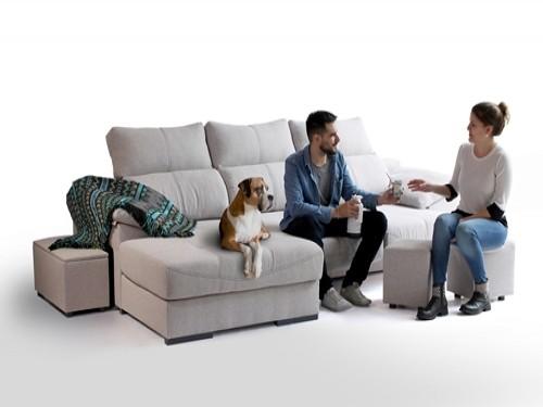 Sofa Sillon Galaxy con Chaise Longue