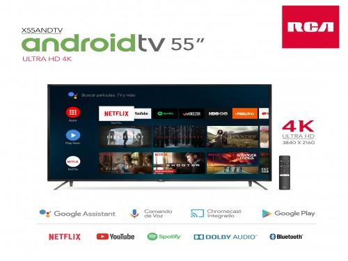 """TV 4K Smart 55"""" RCA X55ANDTV"""