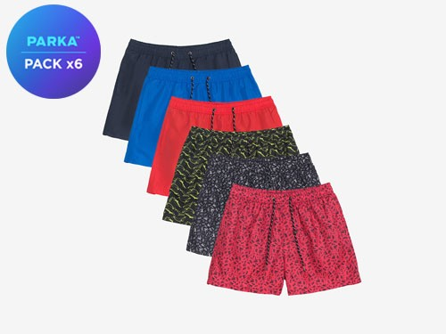 Pack x6 Shorts De Baño