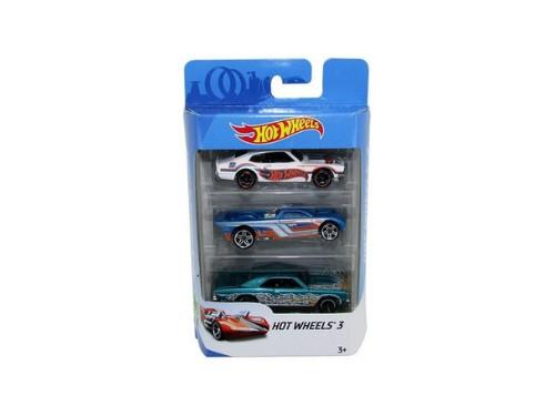 Set De Autos Surtidos X 3 Hot Wheels Mattel