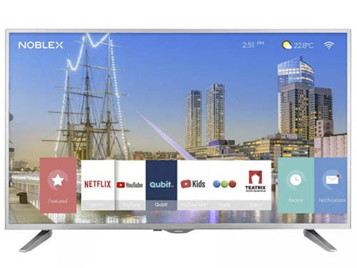 "Smart Tv 50"" 4k UHD Netflix Youtube HDMI USB Noblex"