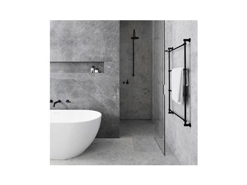 Juego Griferia Baño Lavat, bidet y bañera Negro Mate Estalgrif Haifa