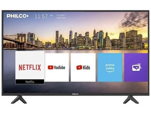 "Smart Tv 55"" UHD 4K Netflix Youtube HDMI USB Philco"