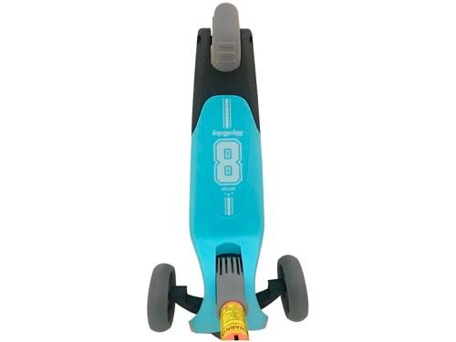 Royal Baby Monopatín Plegable Azul/naranja Rb-s1