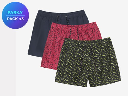 Pack X 3 Shorts De Baño #1
