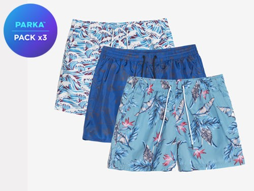 Pack X 3 Shorts De Baño #5