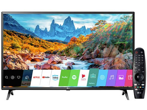 "Smart Tv Led 50"" UHD 4K Bluetooth HDMI USB CTR LG"