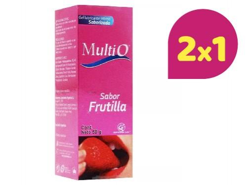 MULTI-O LUBRICANTE SABOR FRUTILLA X 50 gr