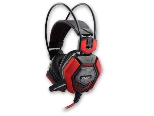 Auriculares Gamer Noga Conquer Headset Pc Potente+microfono
