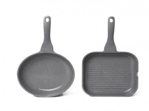 Maestro De Cocina Sarten&bifera Ceramica 24cm Antiadherente