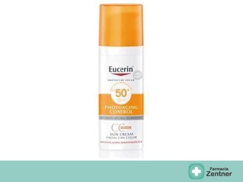 Eucerin Sun Protector Solar CC Cream FPS50 50 ml