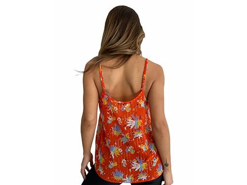 Blusa estampada Dot- Kout Mujer