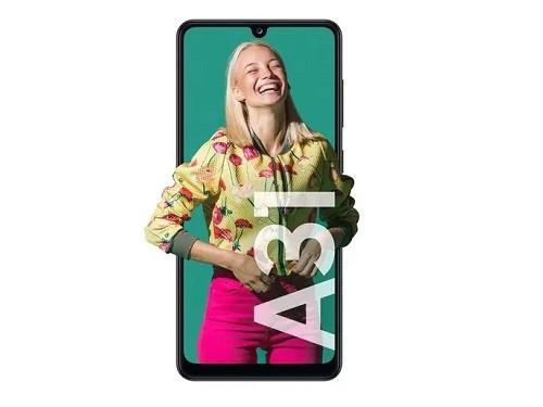 Celular Samsung A31 Sm-A315gzk Negro