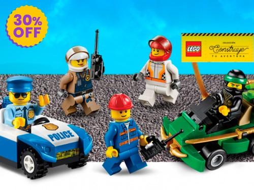 Colección Lego: 30% Off