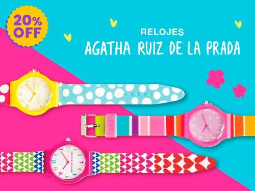 Relojes Agatha Ruiz de la Prada: 20% Off