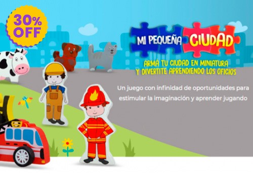Colección Mi Pequeña Ciudad: 30% Off