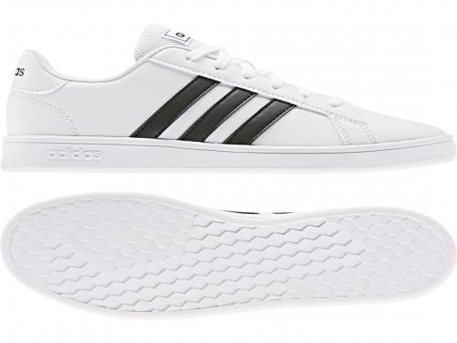 Grand Court K blanco Adidas