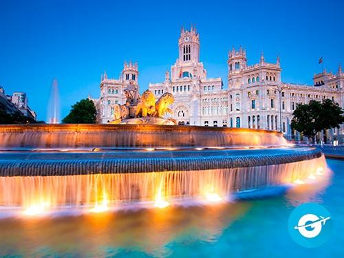 Vuelo a Madrid en oferta. Pasaje Aéreo barato a España. Europa