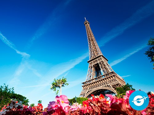 Vuelo a París oferta. Pasaje Aéreo barato a París. Francia. Europa