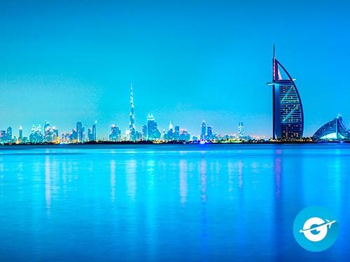 Vuelo a Dubái en oferta. Pasaje Aéreo barato a Emiratos Arabes.