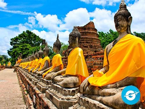Vuelo a Bangkok en oferta. Pasaje Aéreo barato a Tailandia. Asia