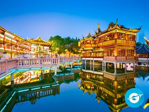 Vuelo a Shangai en oferta. Pasaje Aéreo barato a Shangai. China