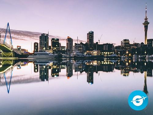 Vuelo a Auckland en oferta. Pasaje Aéreo barato a Nueva Zelanda.