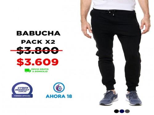 Babucha Hombre Pack X2 VINSON