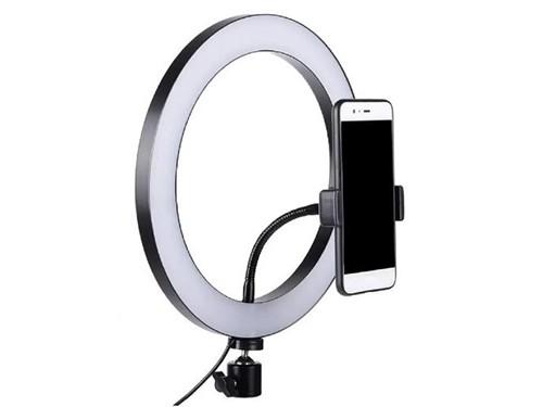 Luminaria Aro Led Bluetooth 15W 30cm con Trípode 1.5 mts. Alic