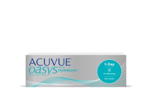 Lentes de contacto diarios Acuvue 1Day Oasys para miopía