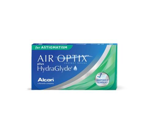 Lentes de contacto Air Optix HydraGlyde Astigmatismo