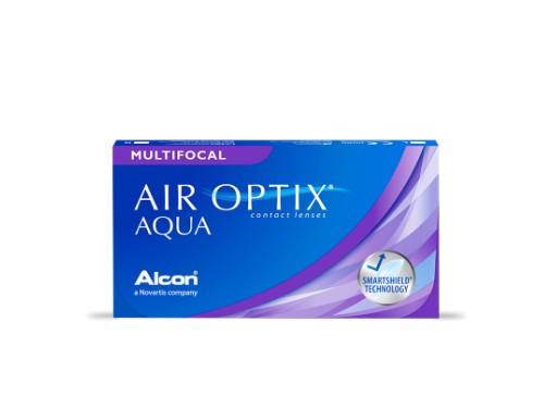 Lentes de contacto Air Optix Multifocal para presbicia