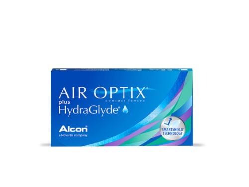 Lentes de contacto Air Optix HydraGlyde para miopía