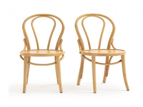 Silla Thonet Nª 18 asiento de madera