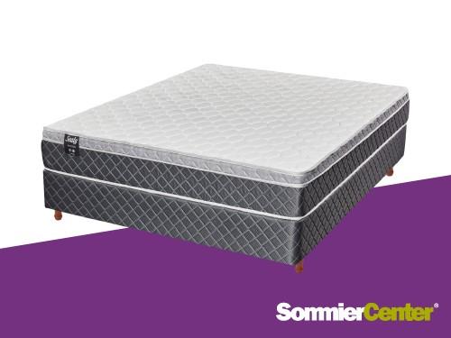 Sommier y colchón Alta Densidad 2 plazas 140x190x24 Europillow Sealy