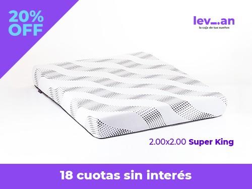 Colchon  Levian Super King En Caja ! 200x200